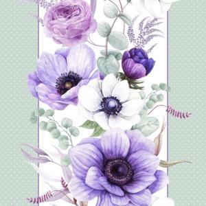 """""""Виолет"""" Вафельное полотенце"""